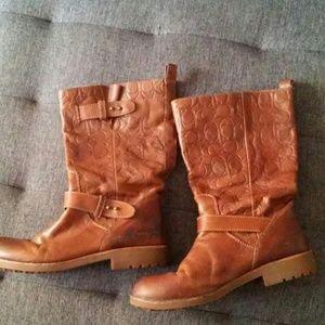 Coach boots 9.5